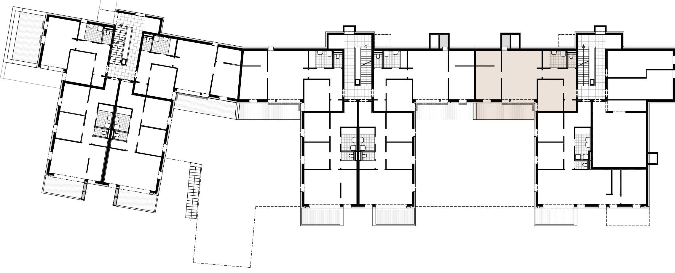Lageplan Haus 1 / Top 01