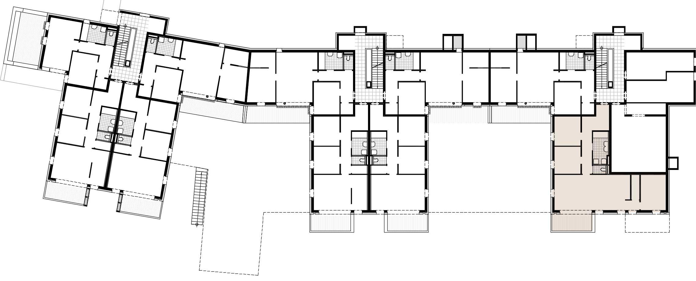 Lageplan Haus 1 / Top 02