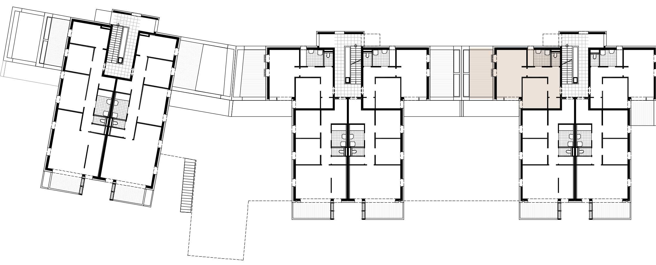 Lageplan Haus 1 / Top 03