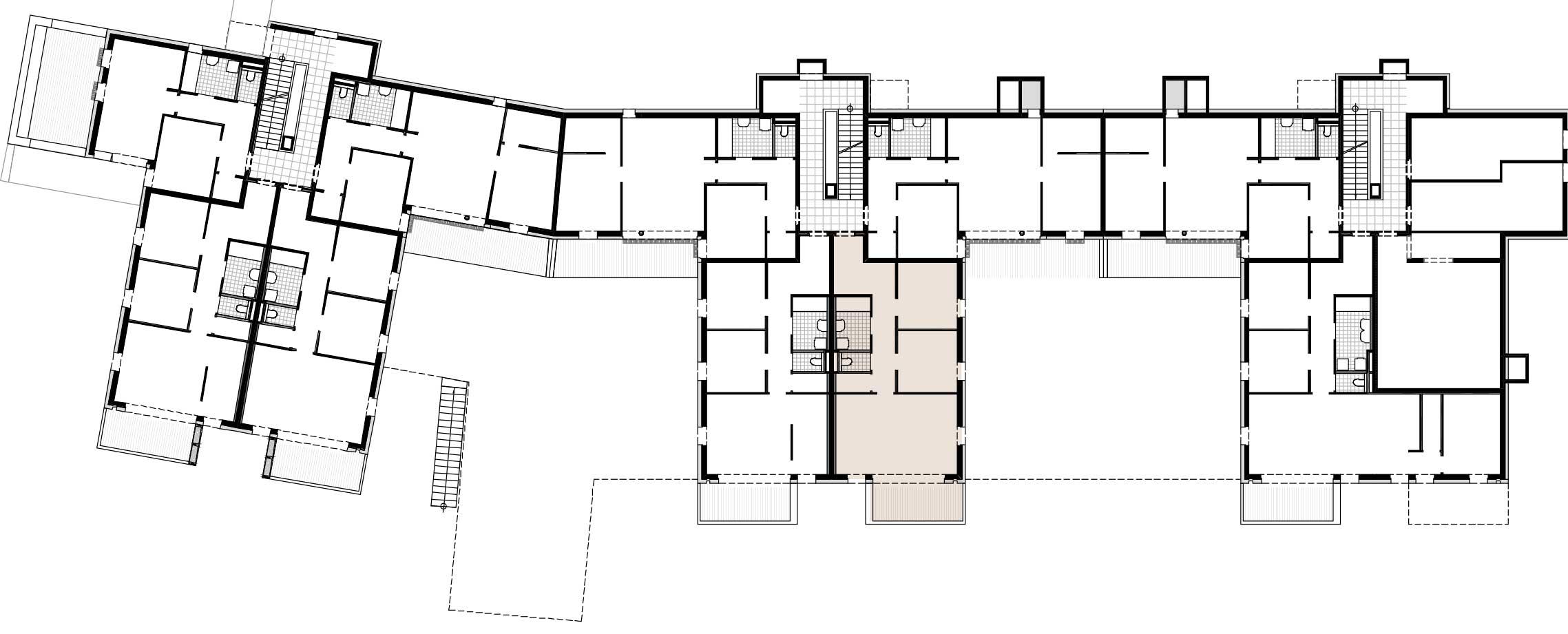 Lageplan Haus 2 / Top 03