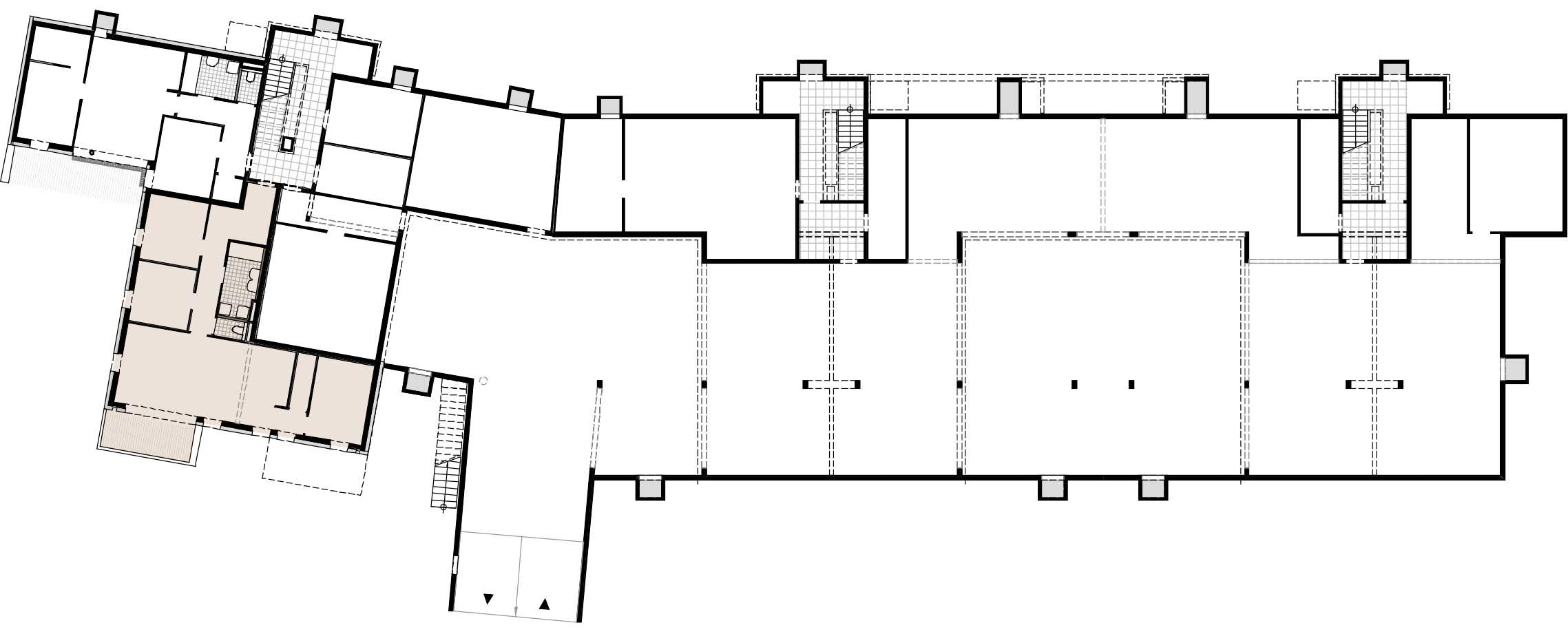 Lageplan Haus 3 / Top 02