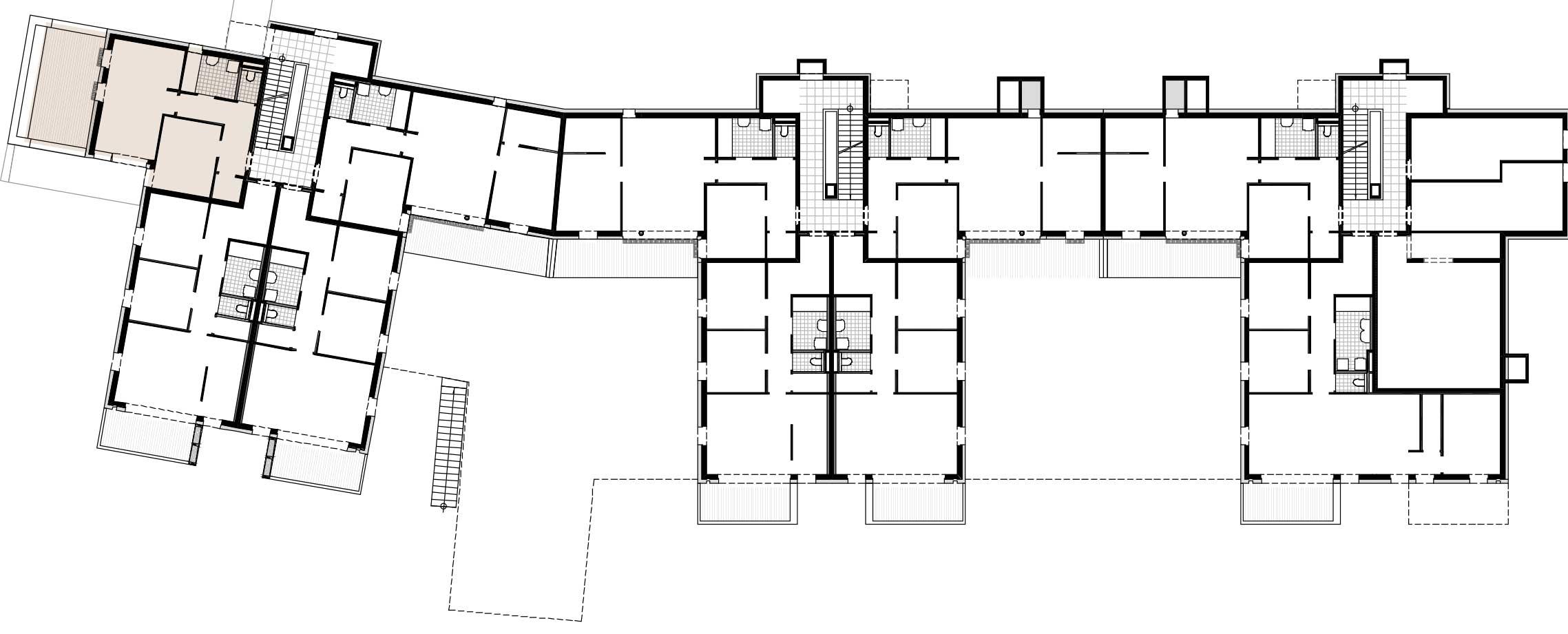 Lageplan Haus 3 / Top 03