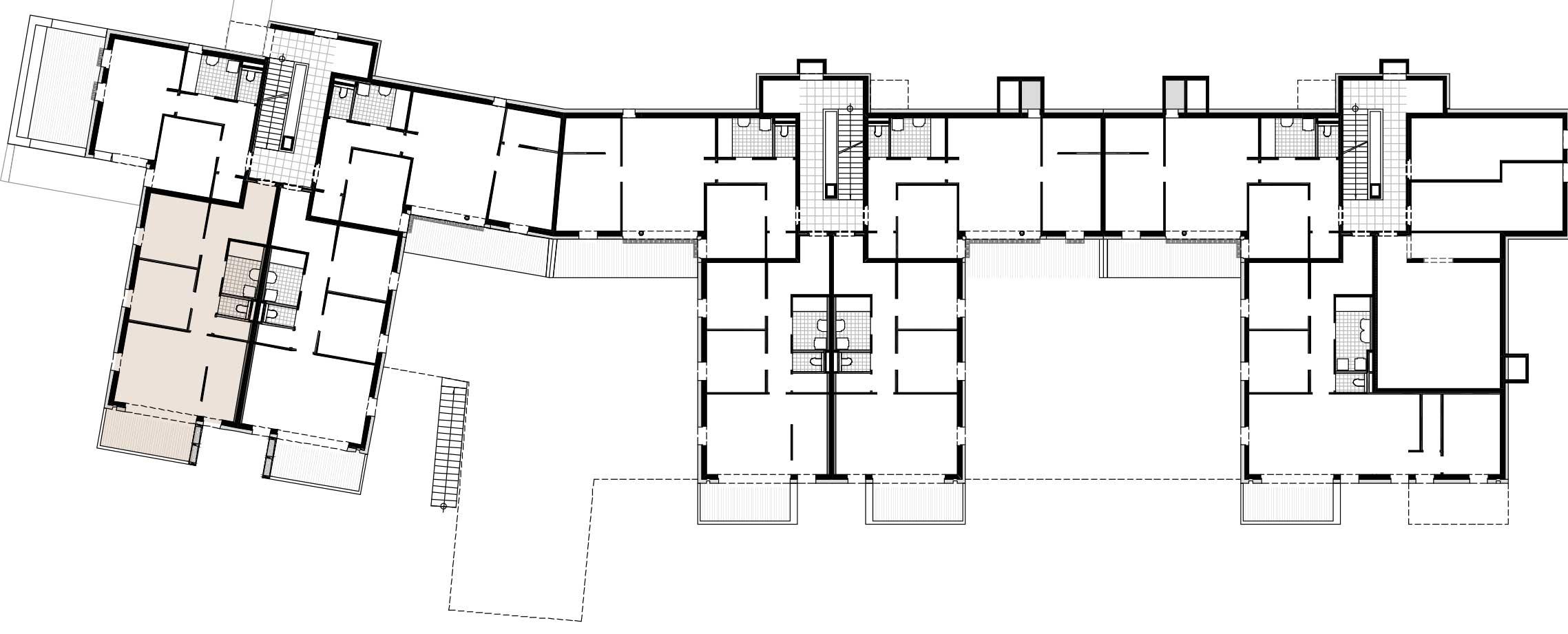 Lageplan Haus 3 / Top 04