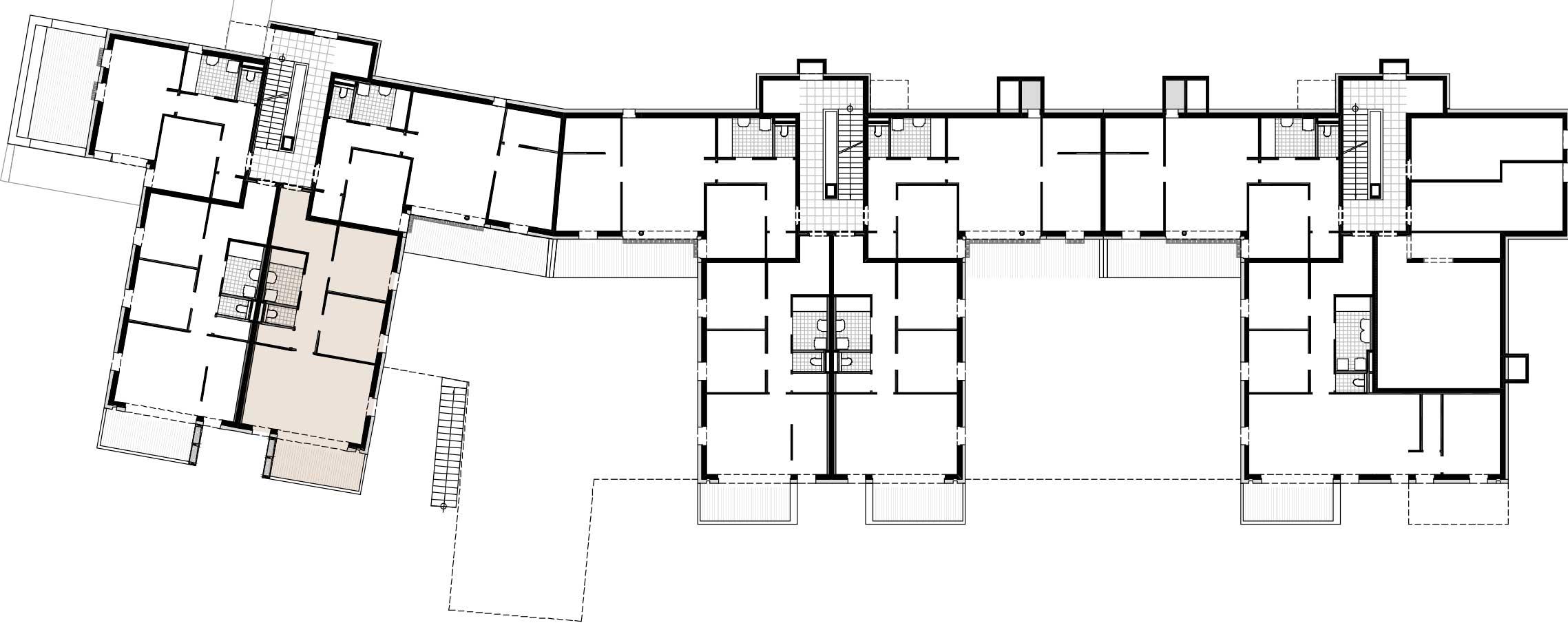 Lageplan Haus 3 / Top 05