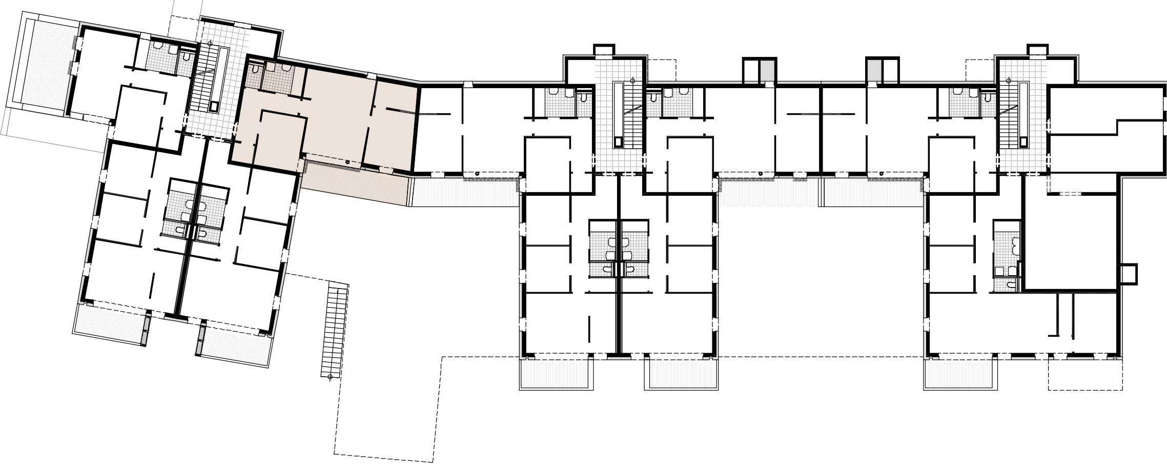Lageplan Haus 3 / Top 06