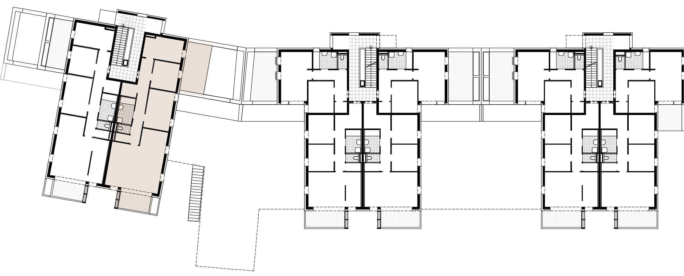 Lageplan Haus 3 / Top 08