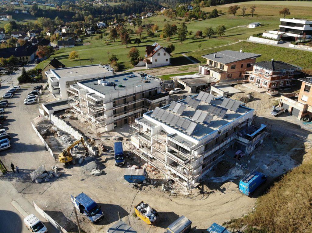 Baufortschritt Oktober 2018